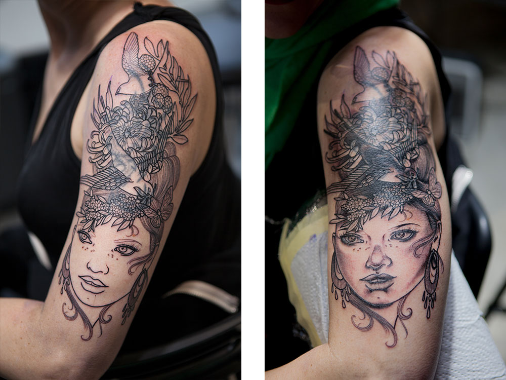 Cover Up von Dea Vectorink