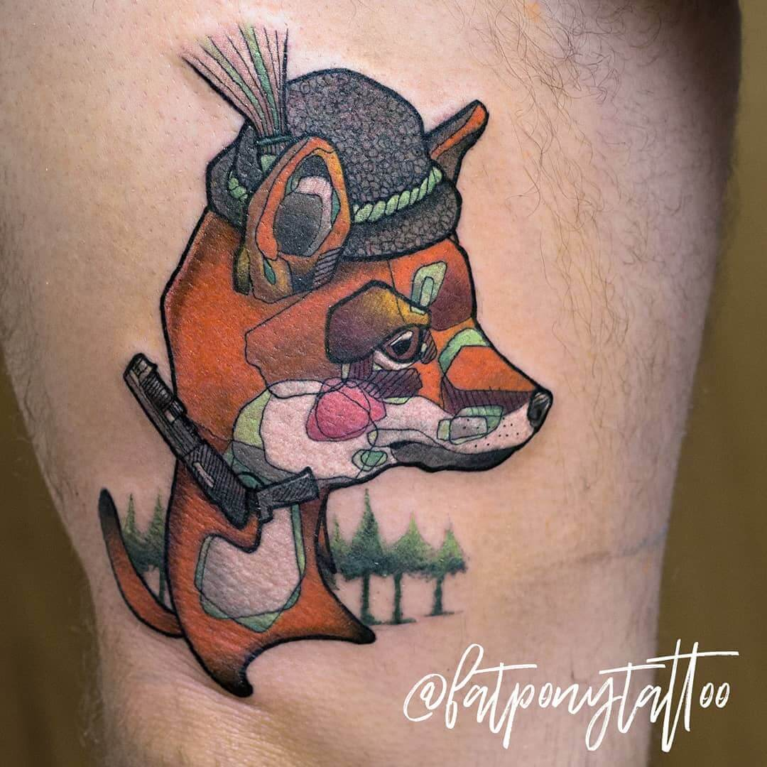 Tattoo Stil: Illustrative Tätowierungen