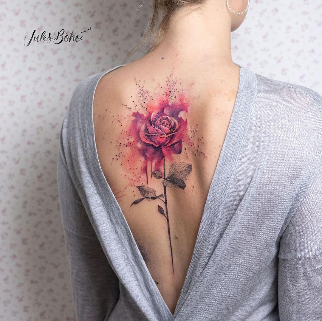 Tattoo Stil: Watercolour