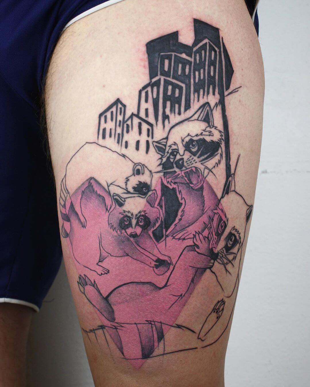 Tattoo Stil: Illustrativ