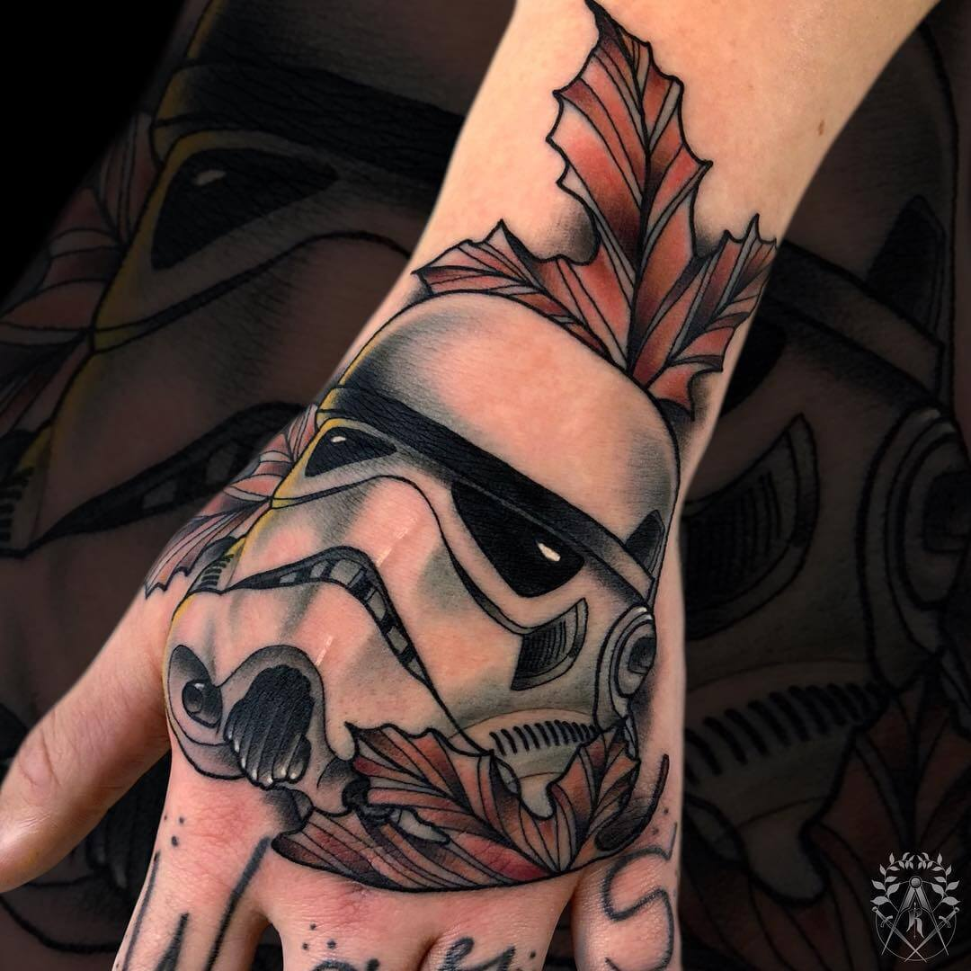 Storm Trooper-Tattoo von Robin Kemper