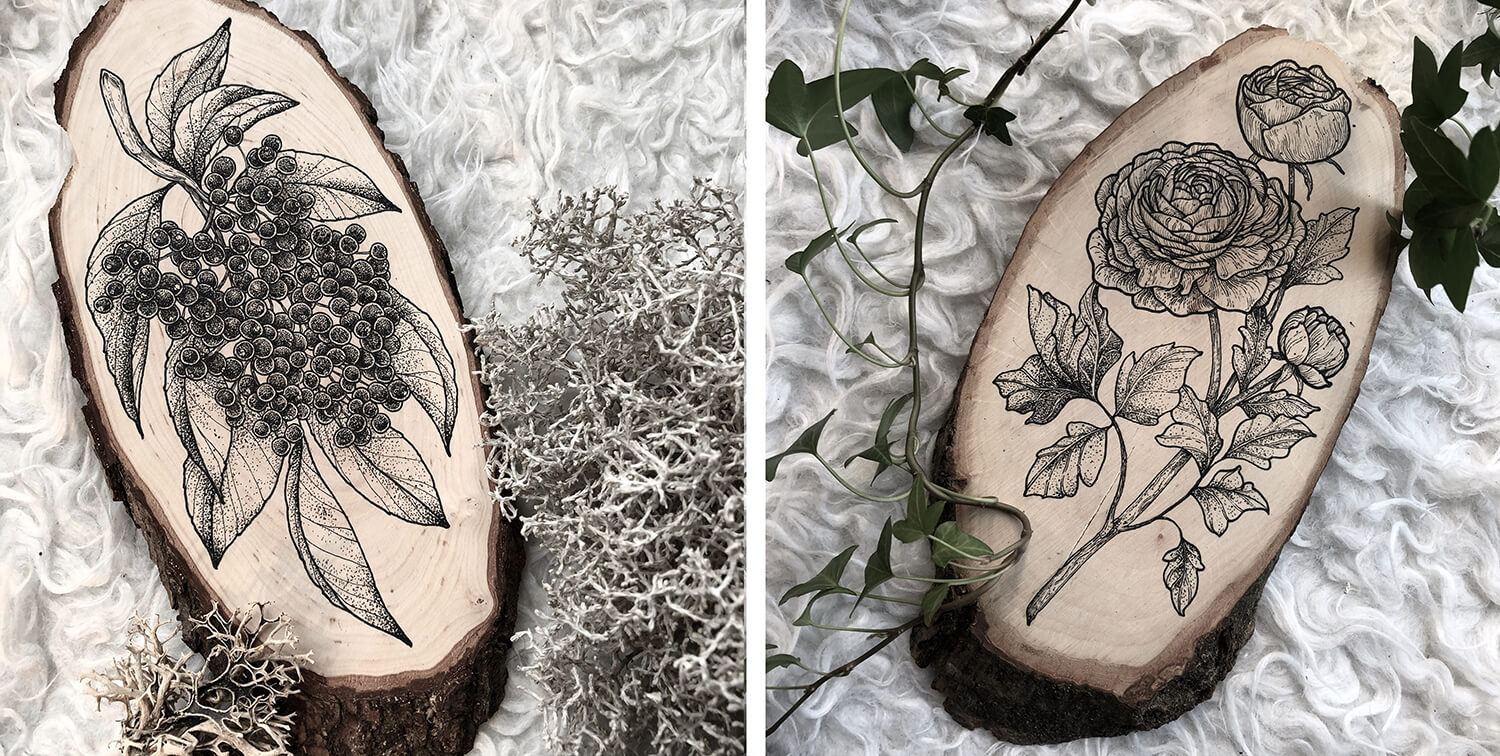 Isa Schürholz / Ash and Wood / More than a Tattooer