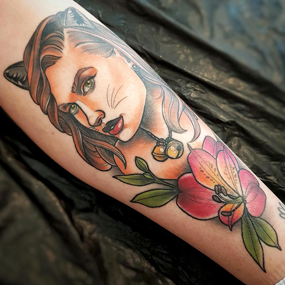 Tattoo von Anastasia Rice