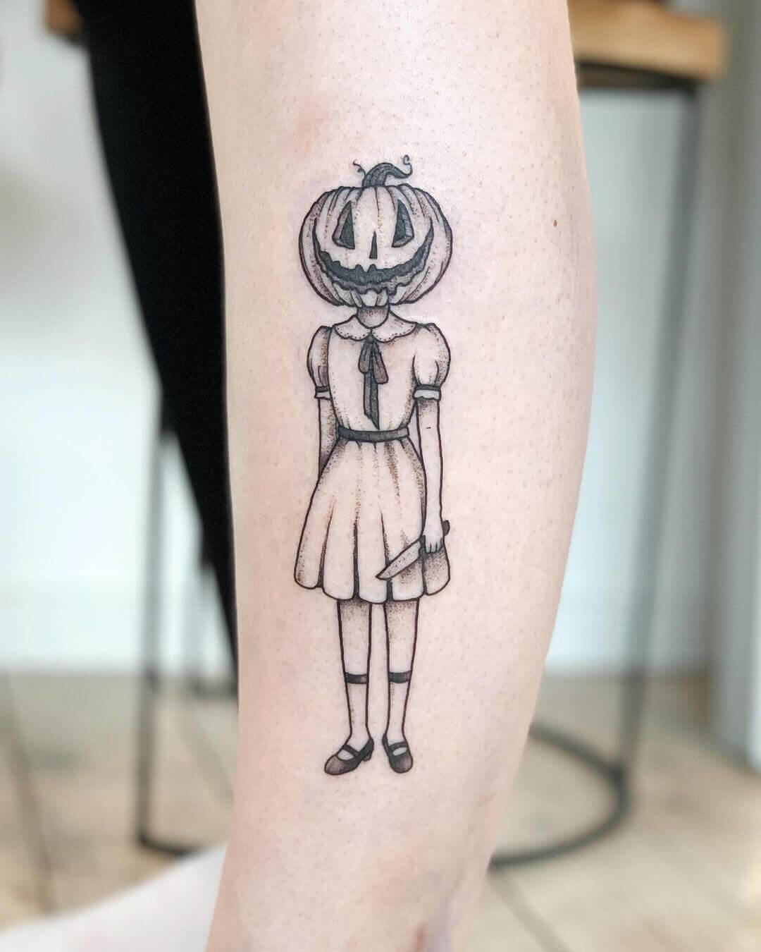 Stilvoll anders: Halloweentattoo Special